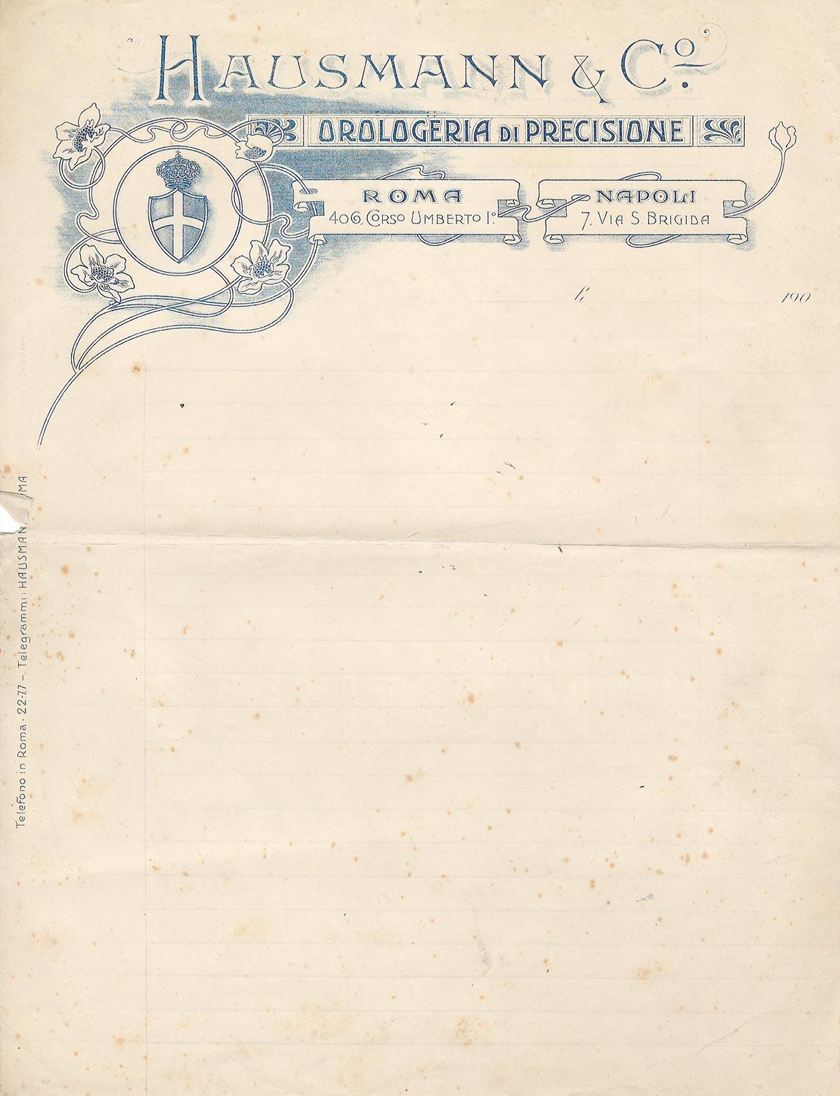 hausmann 1902