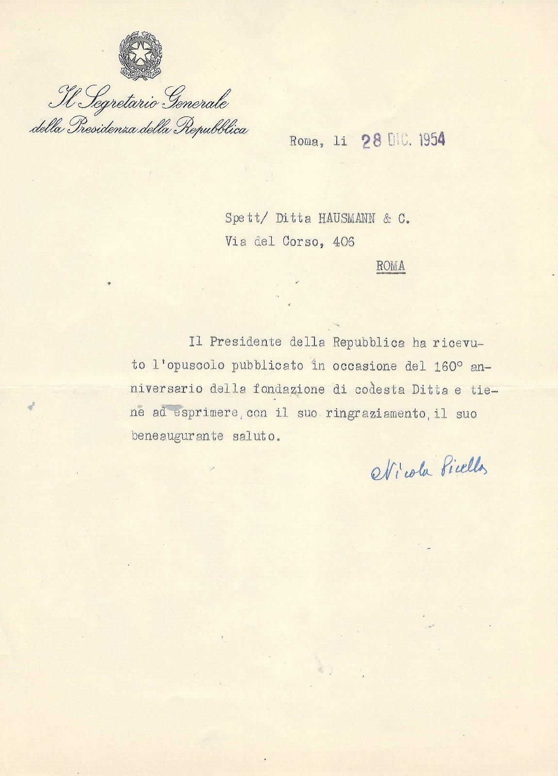 hausmann 1954