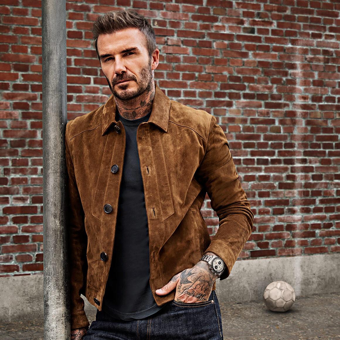 David Beckham Tudor Ambassador