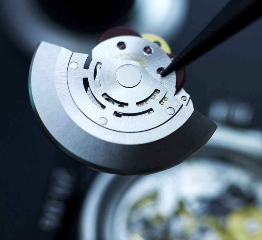 Il rotore di carica (o massa oscillante) Rolex