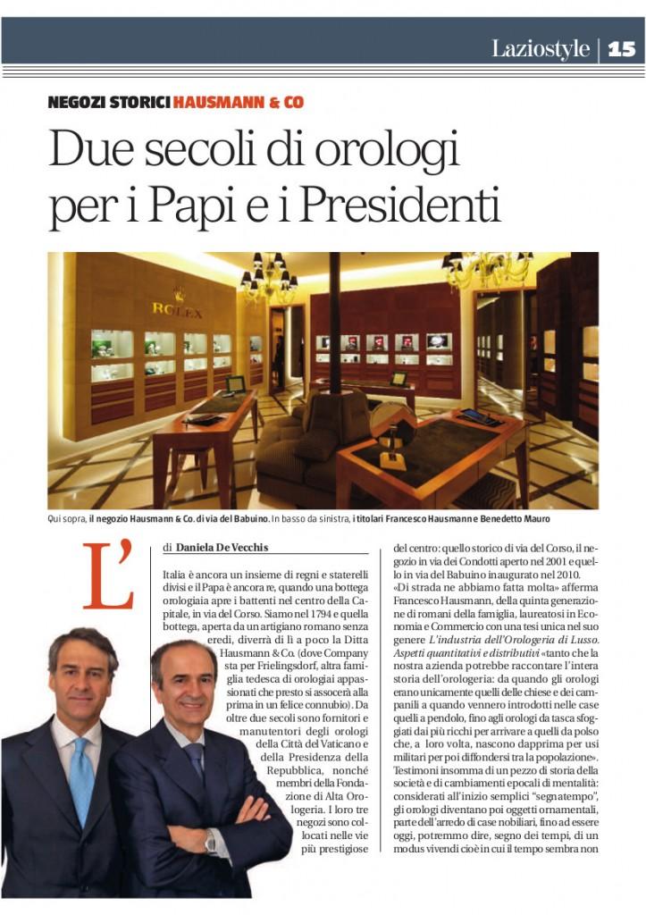 Lazio Style_Hausmann & Co.