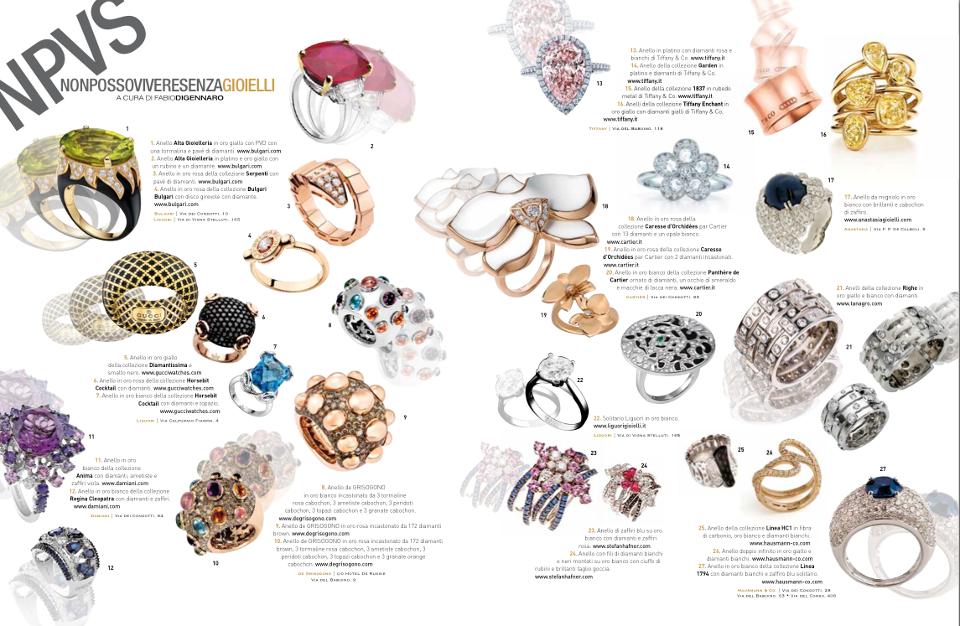 Hausmann & Co. nella rassegna delle novità della gioielleria romana curata da Parioli Pocket