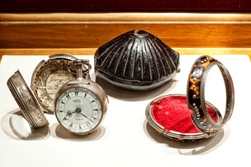 Edward Prior, onion pocket watch, circa 1800. Collezione Hausmann & Co.