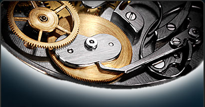 Movimento Breguet con equazione del tempo - dettaglio