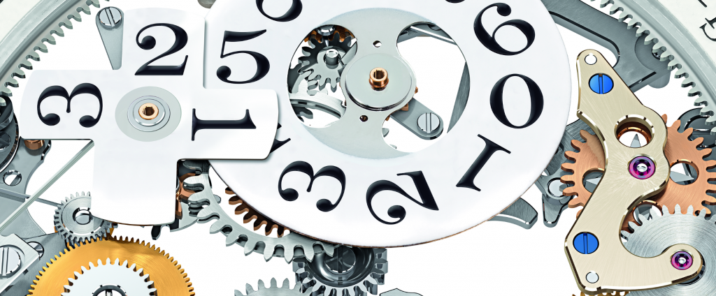 Dettaglio Movimento Lange 11 Calendario Perpetuo