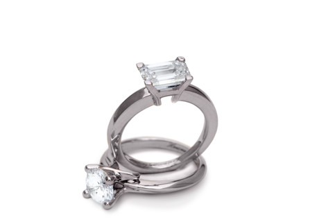 Hausmann & Co. Bridal Collection: solitaire, trilogy and wedding rings