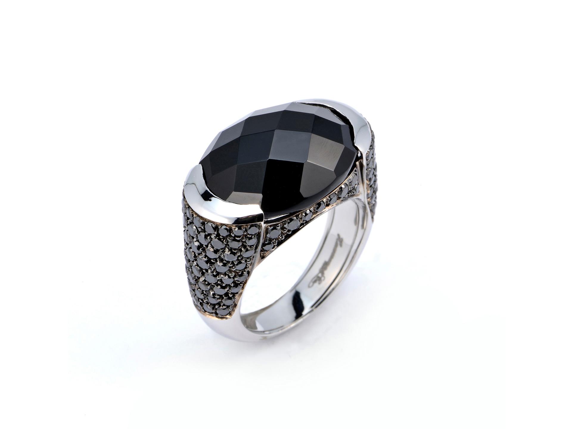 Favorito Anello Oro Pietra Wedding: Singolo anello in oro con pietre dure  JU29