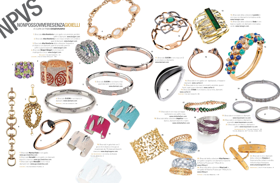 Collezione Boulevard Hausmann & Co. su Parioli Pocket