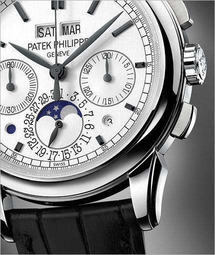 Patek Philippe ref. 5270G: cronografo con calendario perpetuo
