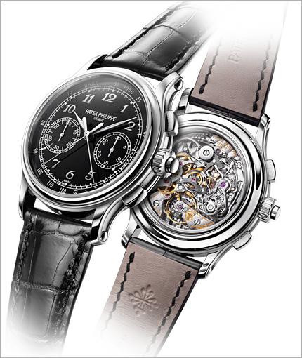 Il calibro CHR 29-535 PS è visibile dal fondello dell'orologio