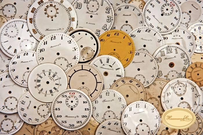 Quadranti per orologi da tasca di produzione Hausmann & Co.