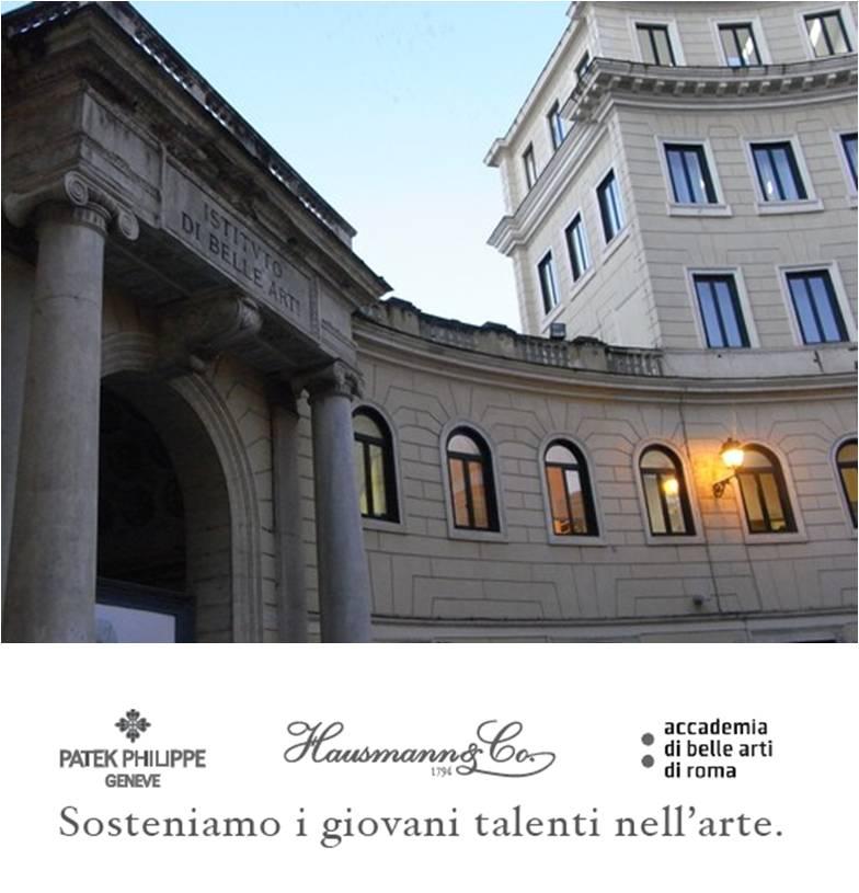 premio hausmann patek belle arti roma