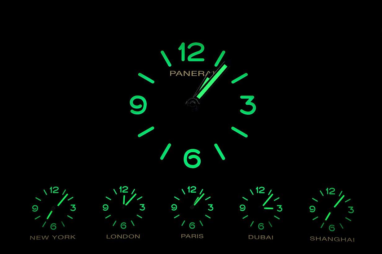 Gli orologi Panerai dell'Expo-Gate