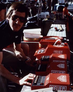 Il team di cronometria della F1 negli anni '90