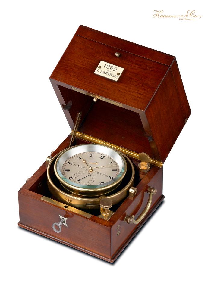 L'esemplare di orologio da marina di Le Roy n. 1252