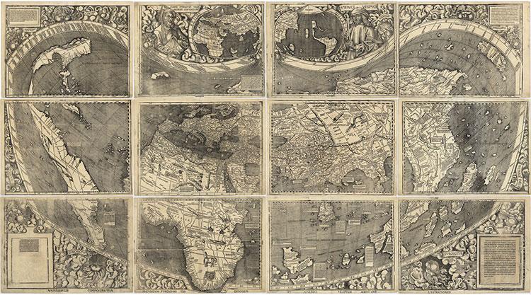 Carta di Waldseemuller del 1507
