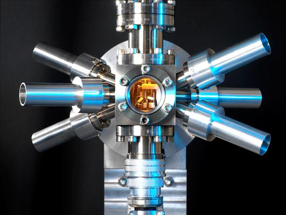 L'orologio atomico ottico del ricercatore Alan Madej Credits: The New Yorker