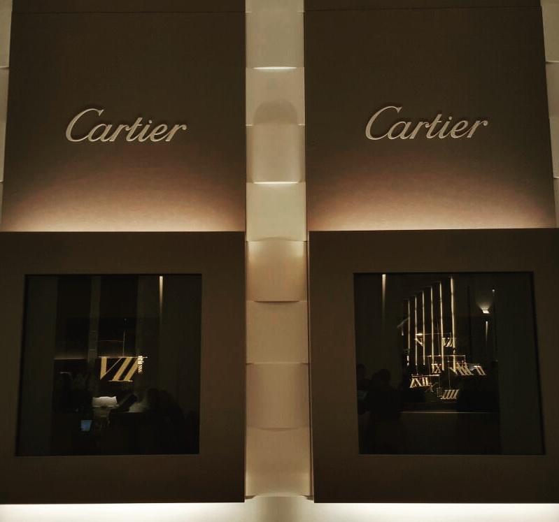 Solo numeri romani per Cartier!