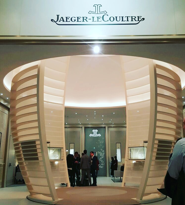 Lo stand Jaeger-LeCoultre
