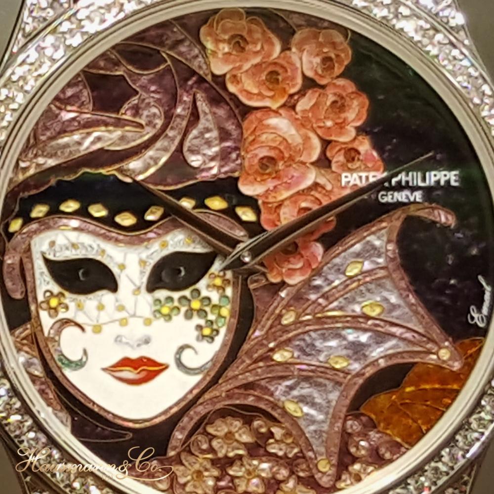 Patek Philippe presenta una collezione di smalti cloisonné dedicati al Carnevale di Venezia