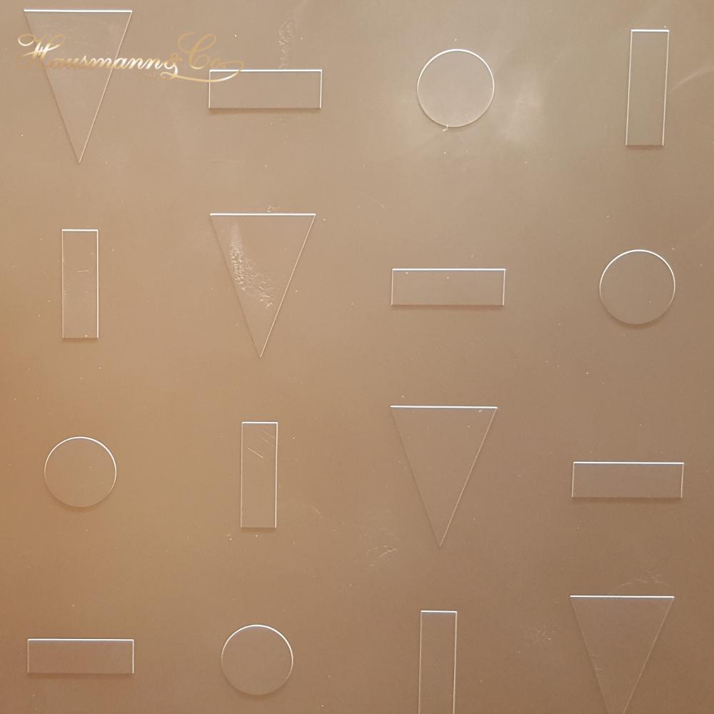 Una texture dagli elementi inconfondibili per alcune delle pareti dello stand Rolex