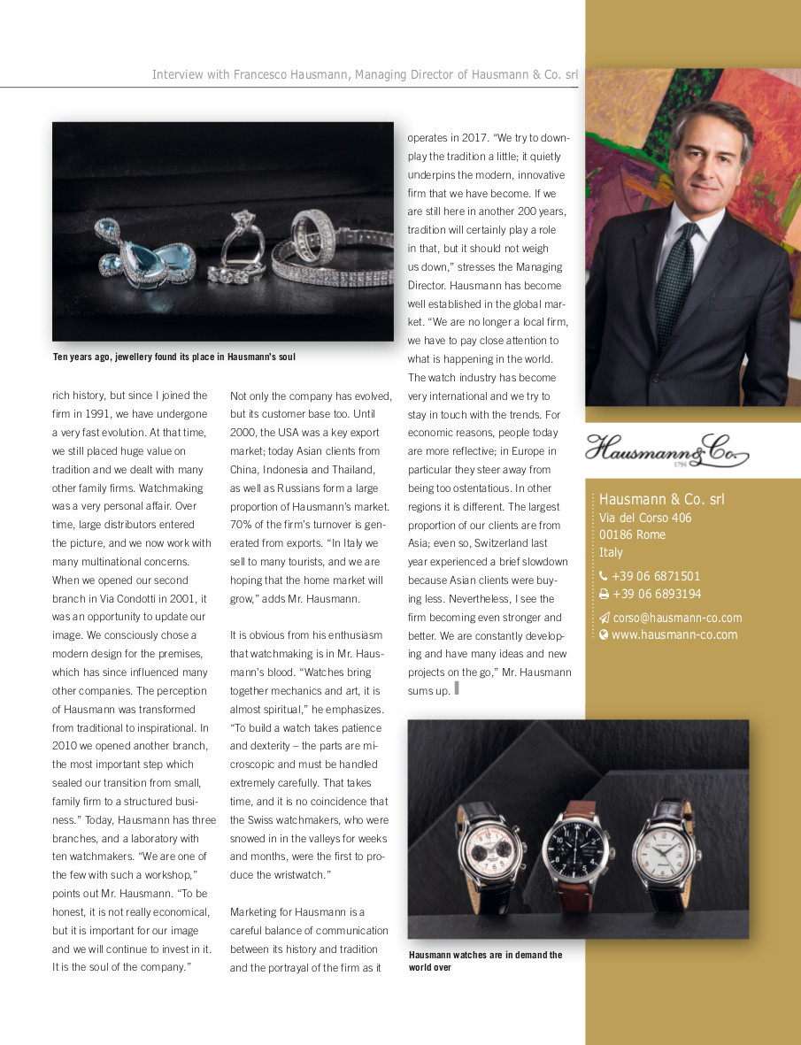Intervitsa francesco hausmann_European Business