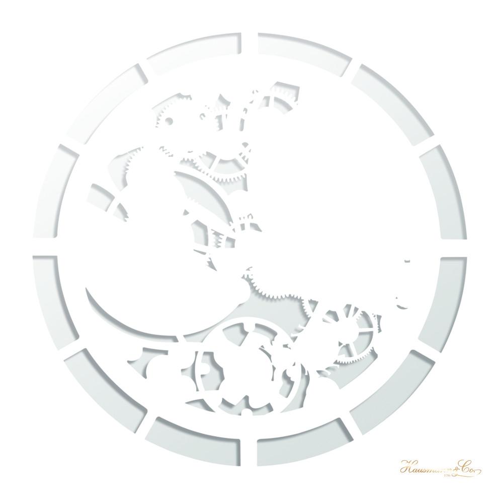 Le ombre disegnate dalla luce che filtra attraverso il meccanismo dell'orologio scheletrato Patek Philippe ref. 5180R