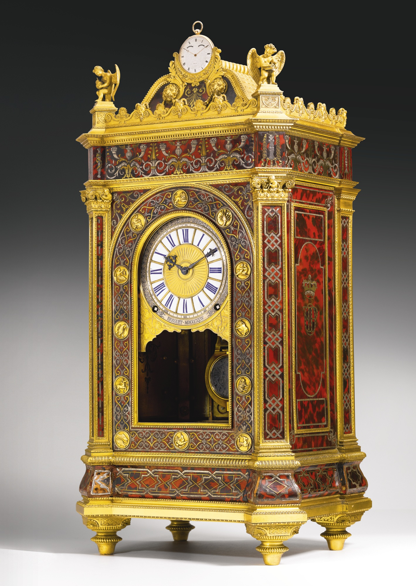 La Pendola Simpatetica del Duca D'Orléan, battuta all'asta da Sothebys per la cifra record di 6,802,500 USD