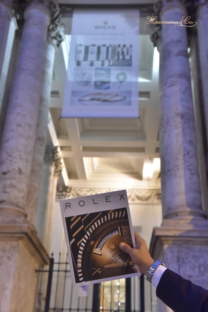 Ingresso del Palazzo delle Esposizioni a Roma in occasione della mostra Hollywood Icons