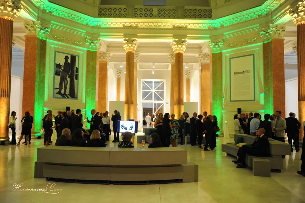 L'interno di Palazzo delle Esposizioni