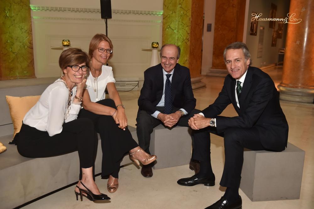 Elena Rusinenti e Jutta Jalava, Rolex Italia, e Benedetto Mauro e Francesco Hausmann, Hausmann & Co.