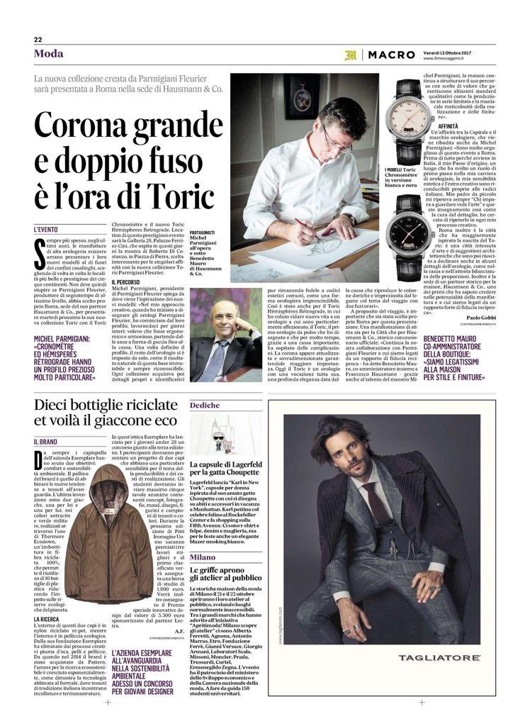 L'articolo di Paolo Gobbi per Il Messaggero