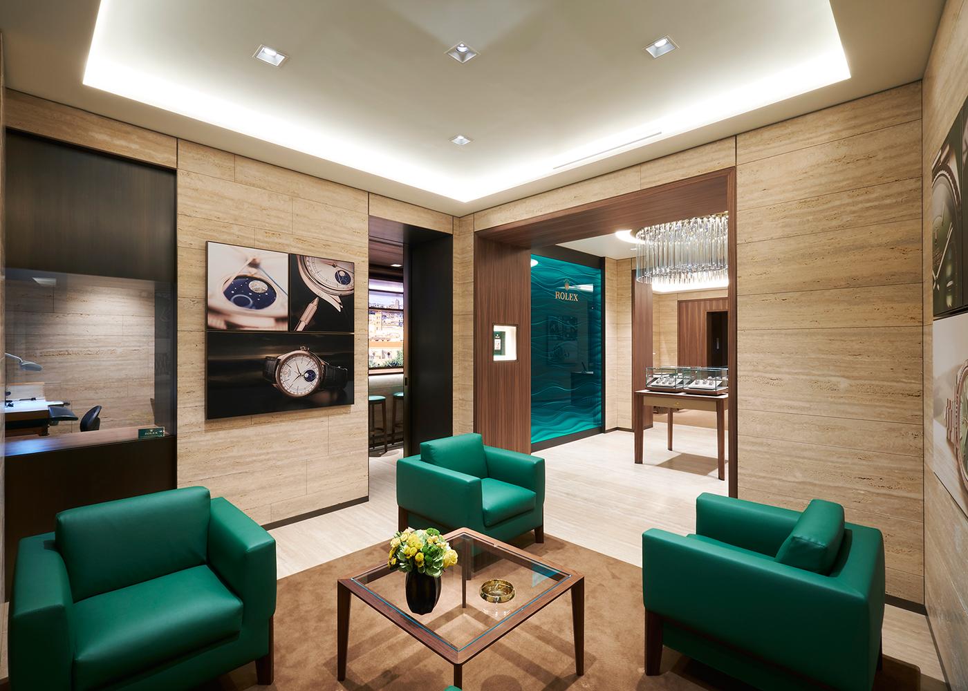 Boutique Rolex via dei Condotti