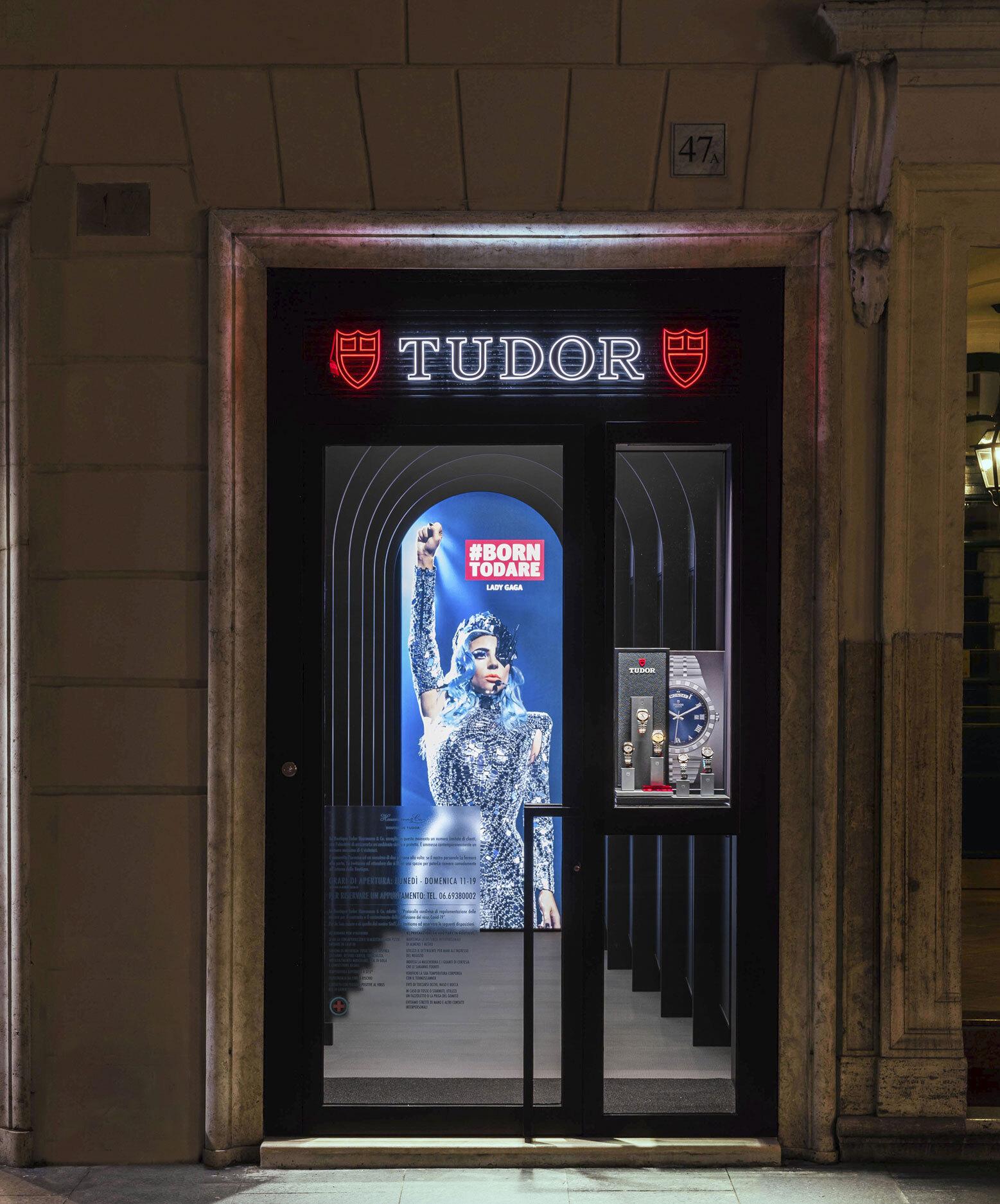 Boutique Tudor via dei Condotti