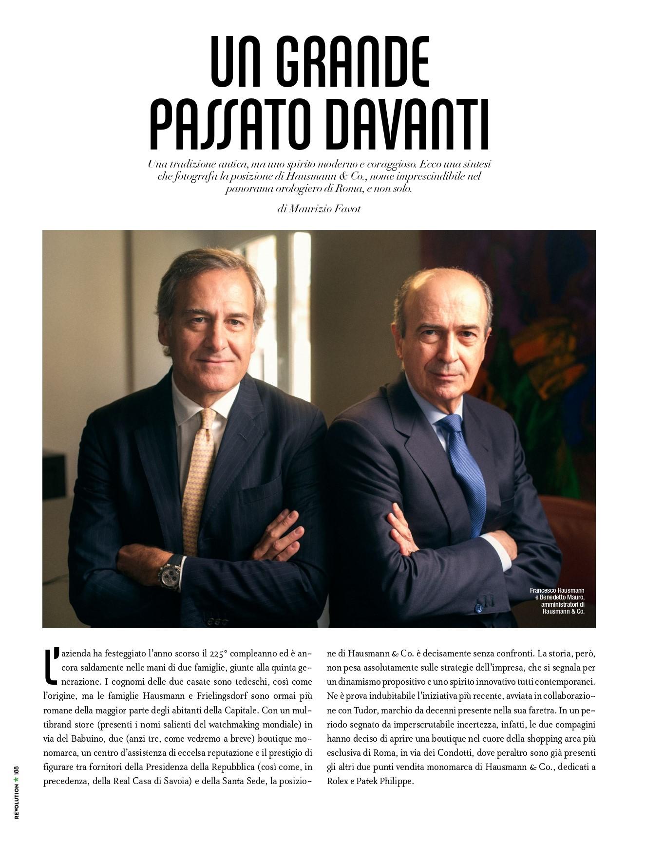 Immagine articolo per apertura punto vendita tudor ufficiale a roma