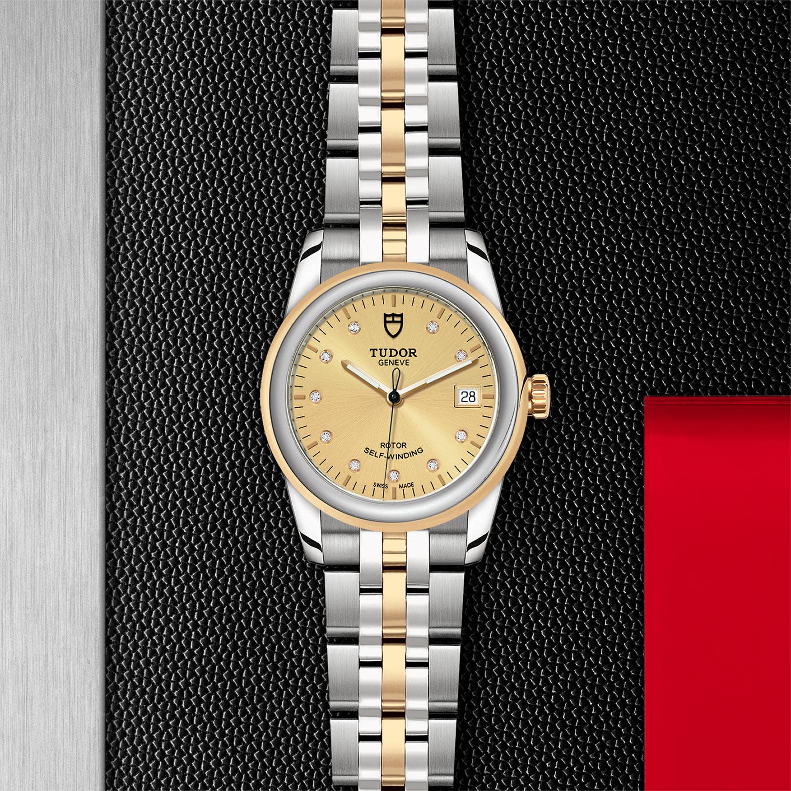 TUDOR Glamour Date - M55003-0006