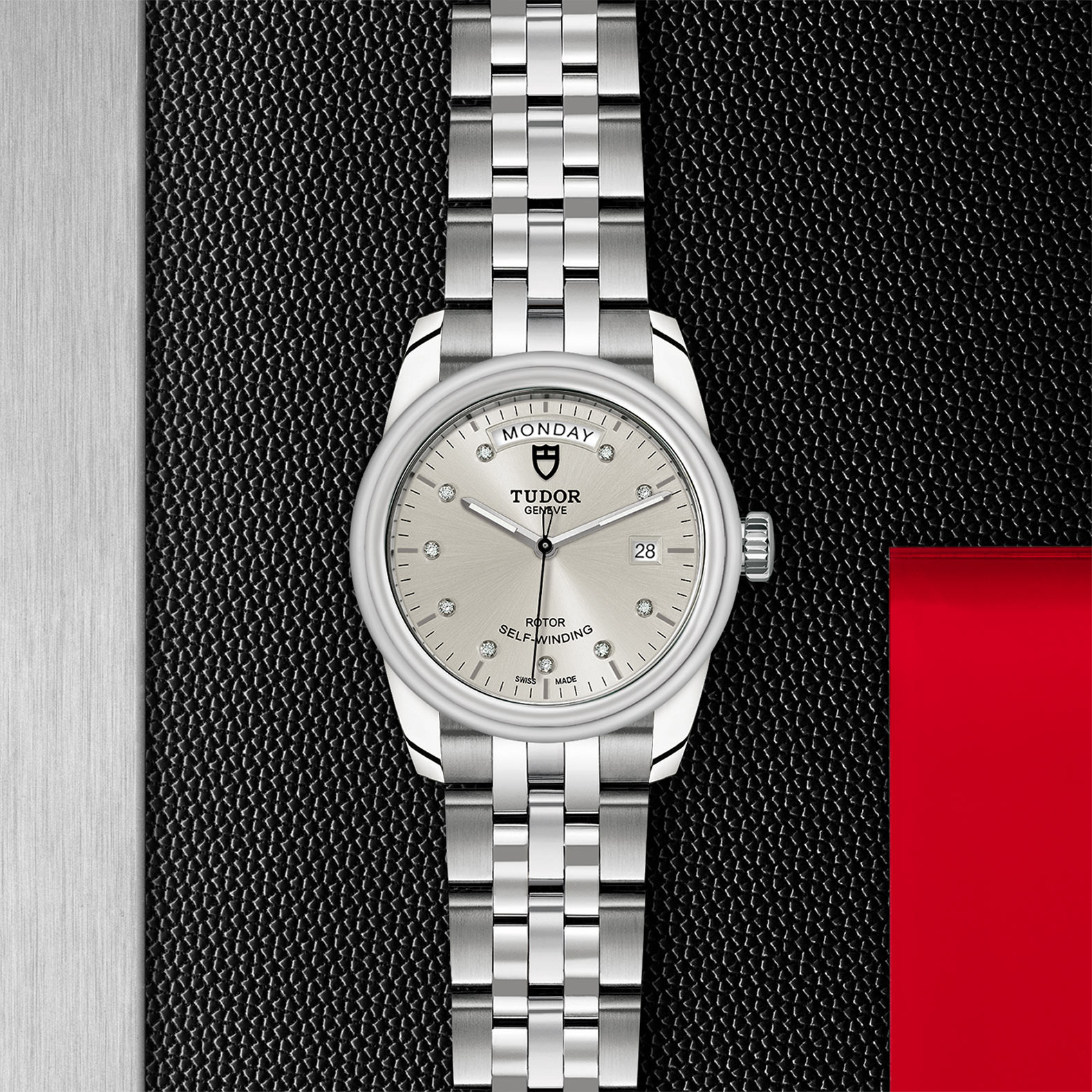 TUDOR Glamour Date+Day - M56000-0006