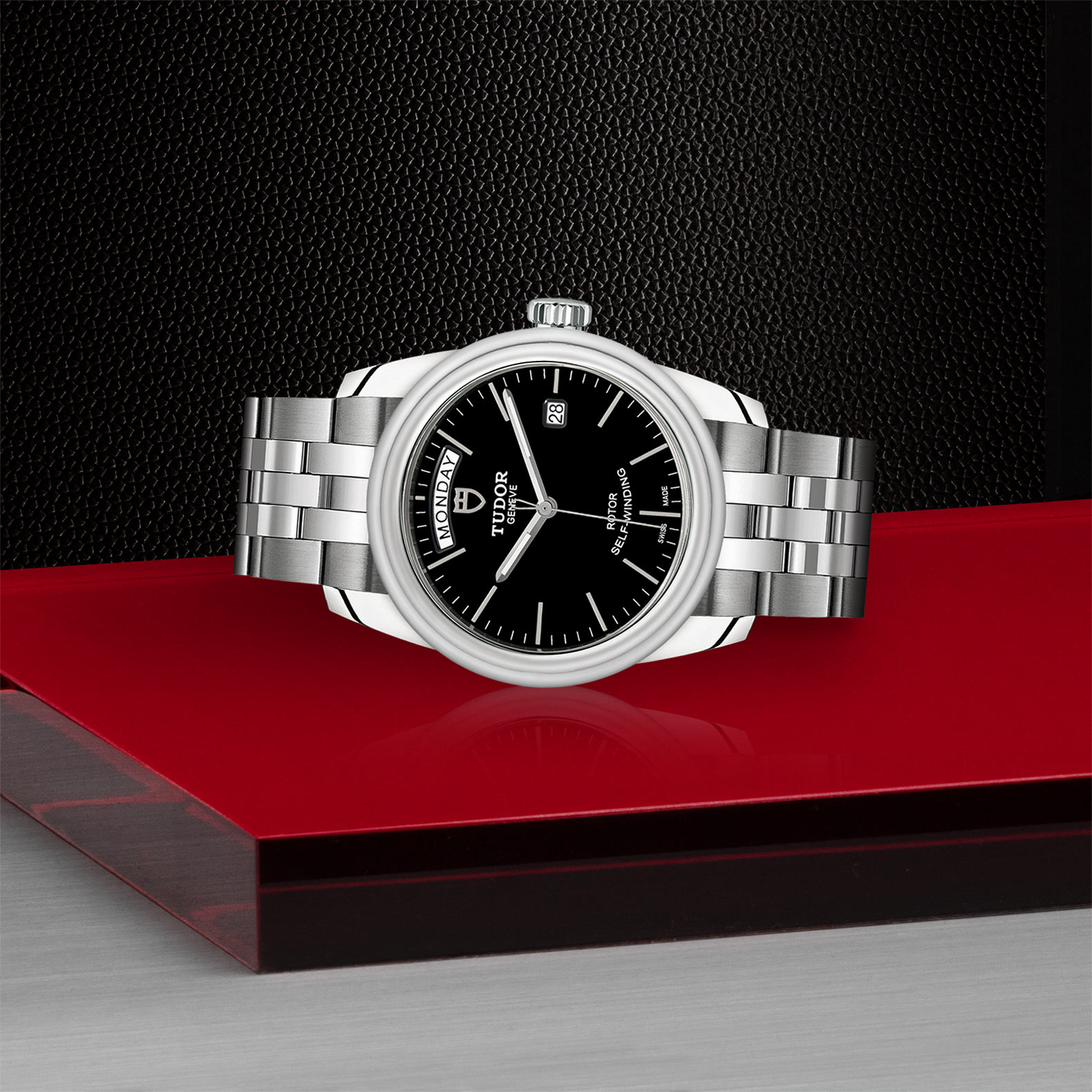 TUDOR Glamour Date+Day - M56000-0007