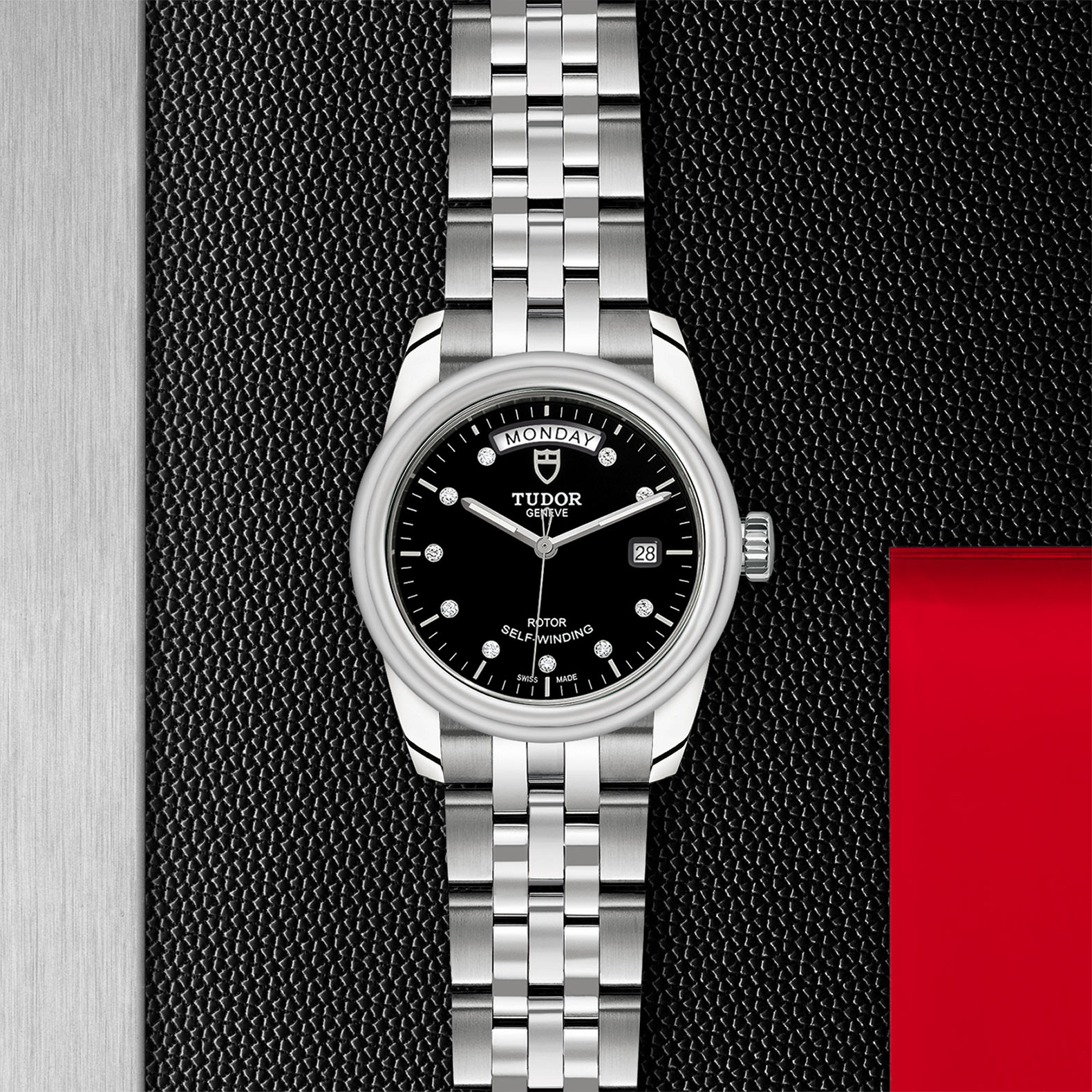 TUDOR Glamour Date+Day - M56000-0008