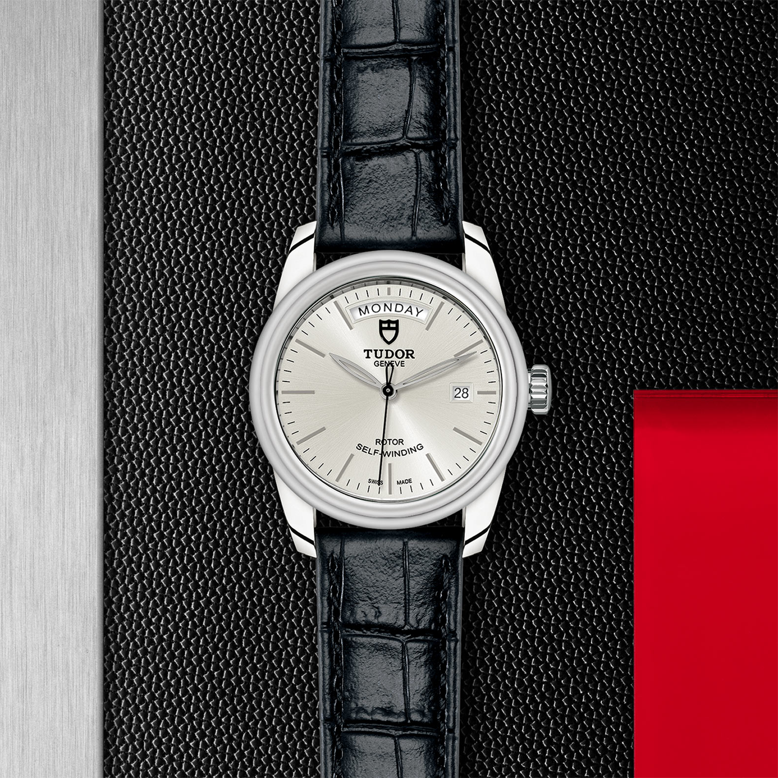 TUDOR Glamour Date+Day - M56000-0018