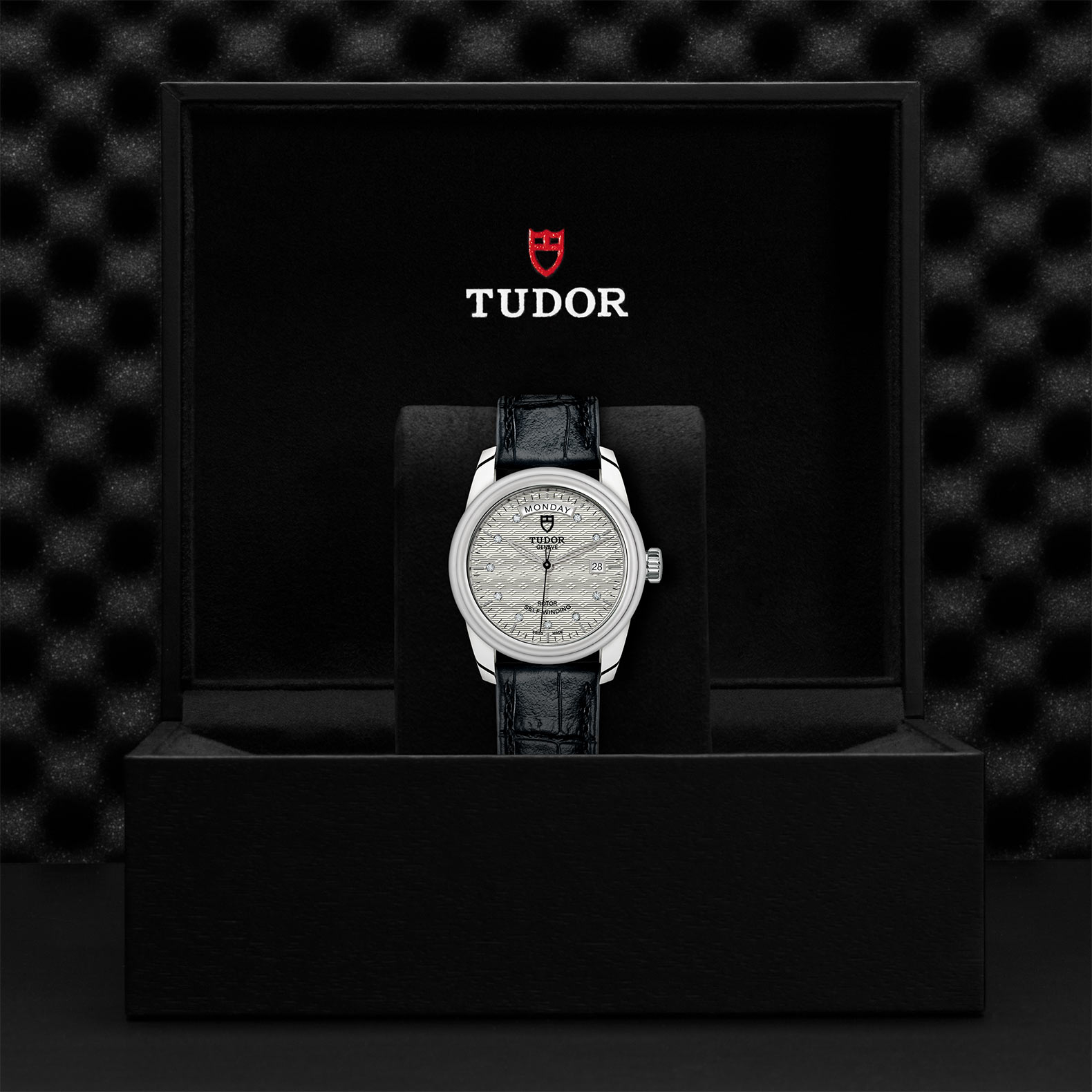 TUDOR Glamour Date+Day - M56000-0038