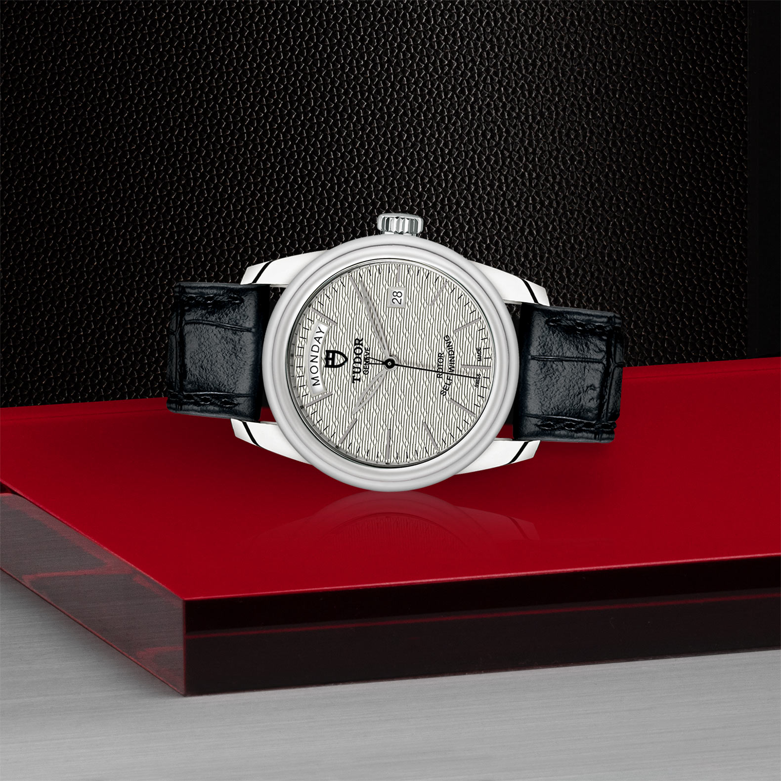 TUDOR Glamour Date+Day - M56000-0043