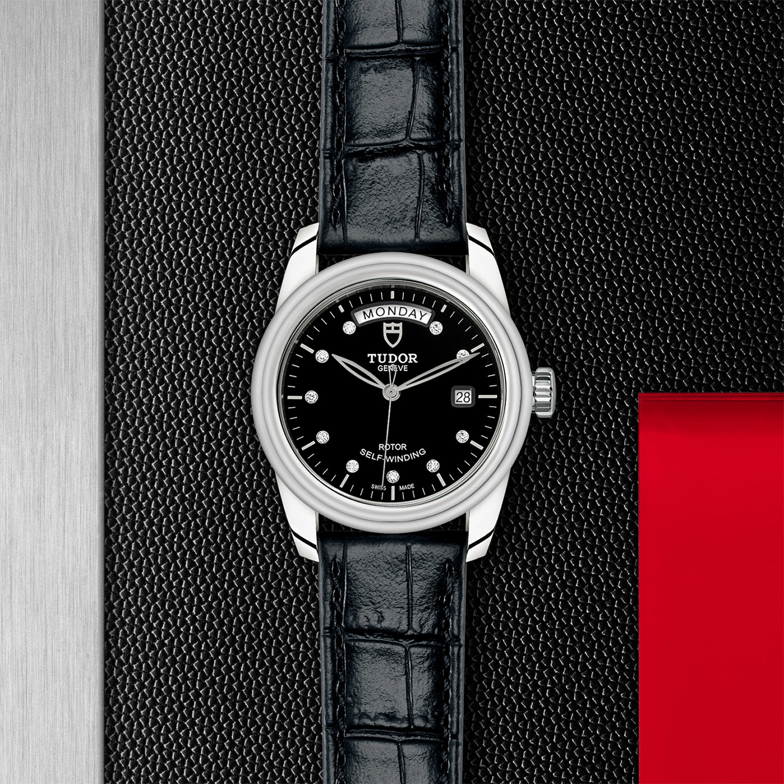 TUDOR Glamour Date+Day - M56000-0049