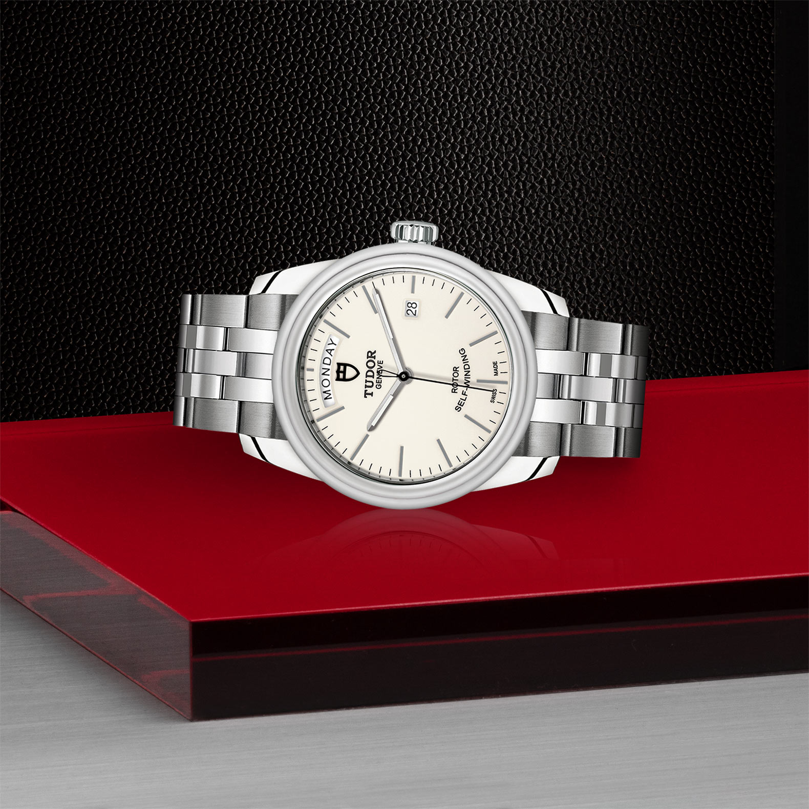TUDOR Glamour Date+Day - M56000-0181