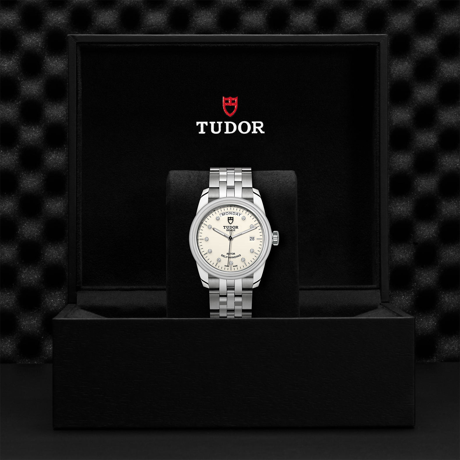 TUDOR Glamour Date+Day - M56000-0182
