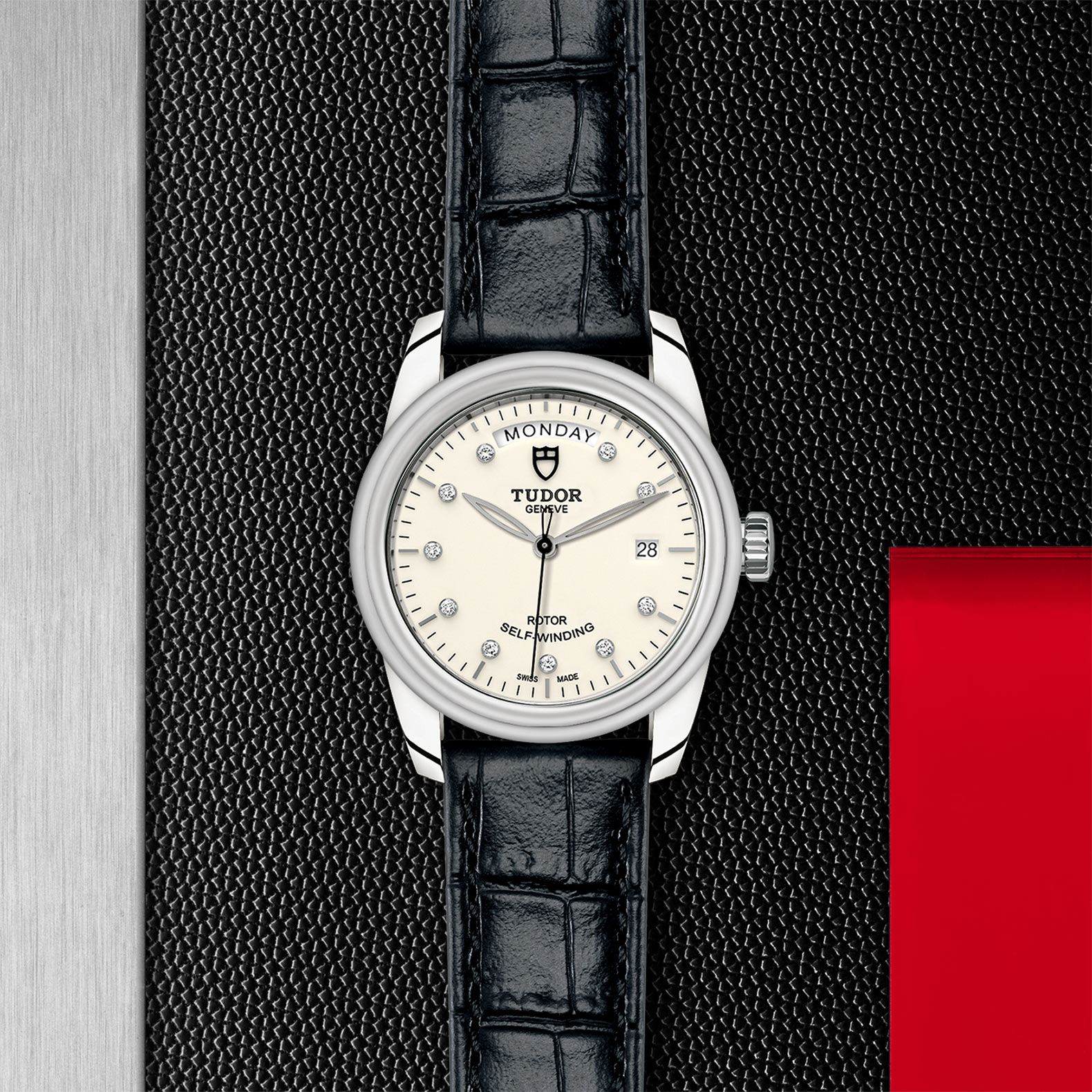 TUDOR Glamour Date+Day - M56000-0184