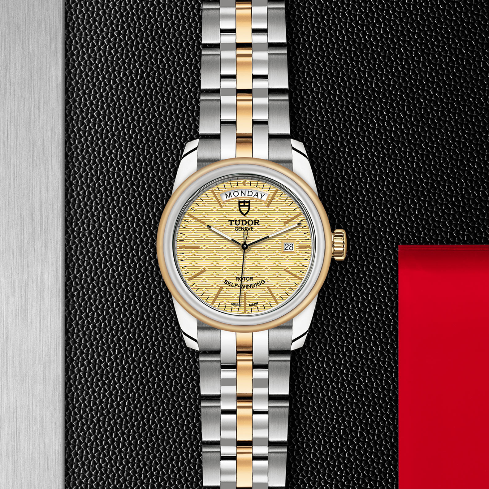 TUDOR Glamour Date+Day - M56003-0003