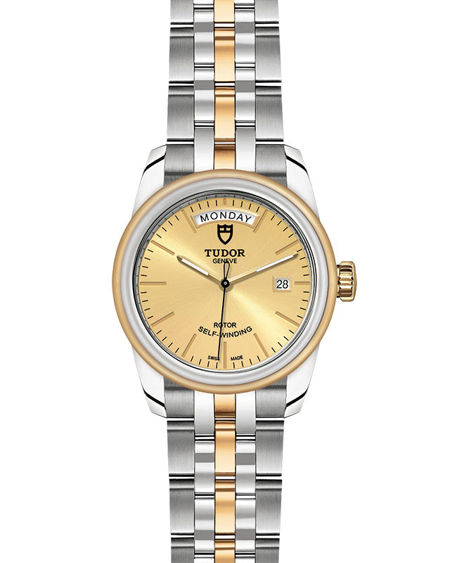 TUDOR Glamour Date+Day - M56003-0005