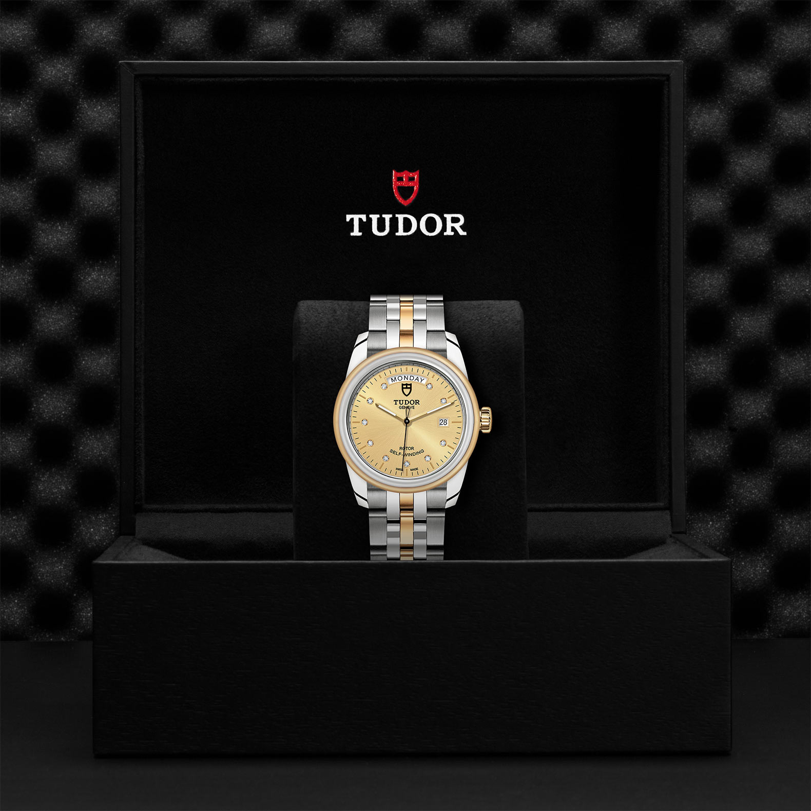 TUDOR Glamour Date+Day - M56003-0006