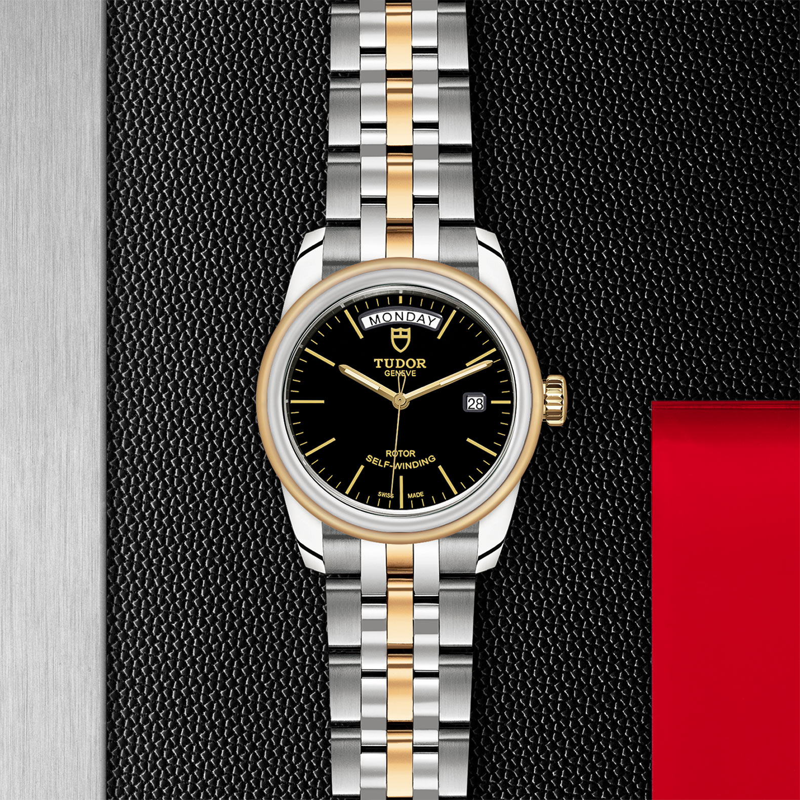 TUDOR Glamour Date+Day - M56003-0007